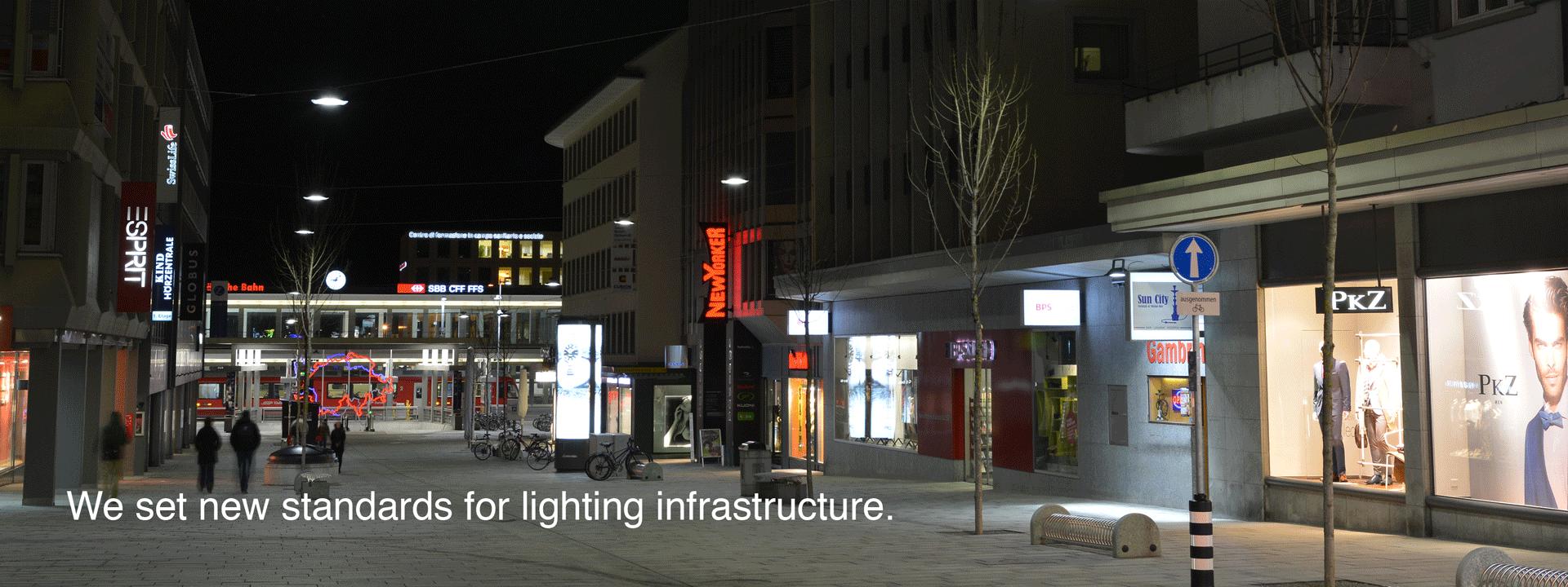 New standards for lighting Infrastructure
