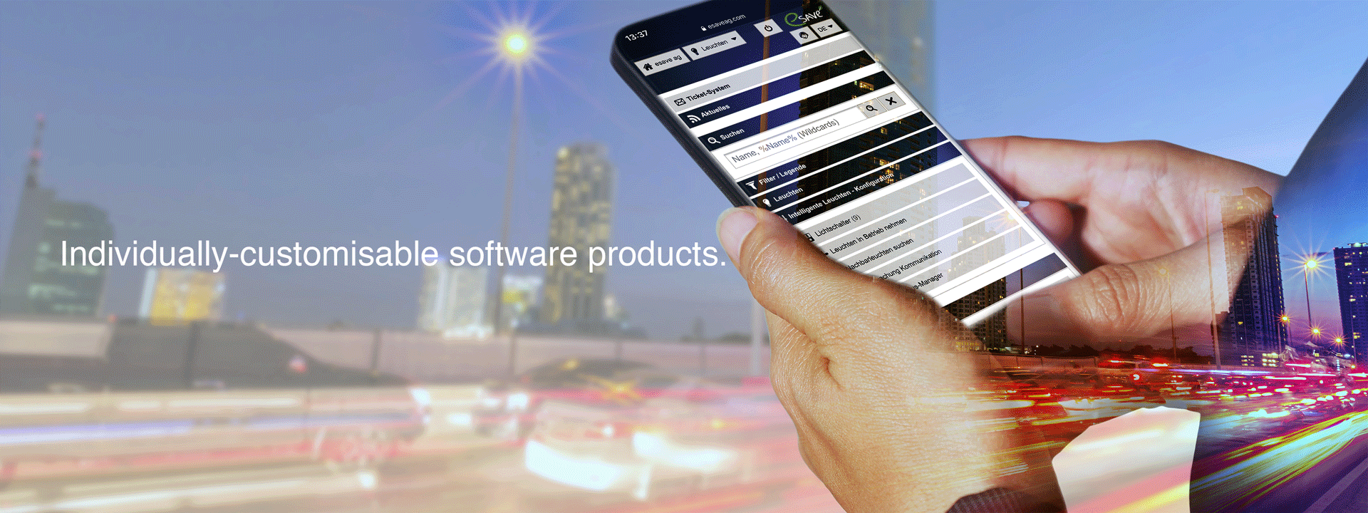 Individually-customisable software products